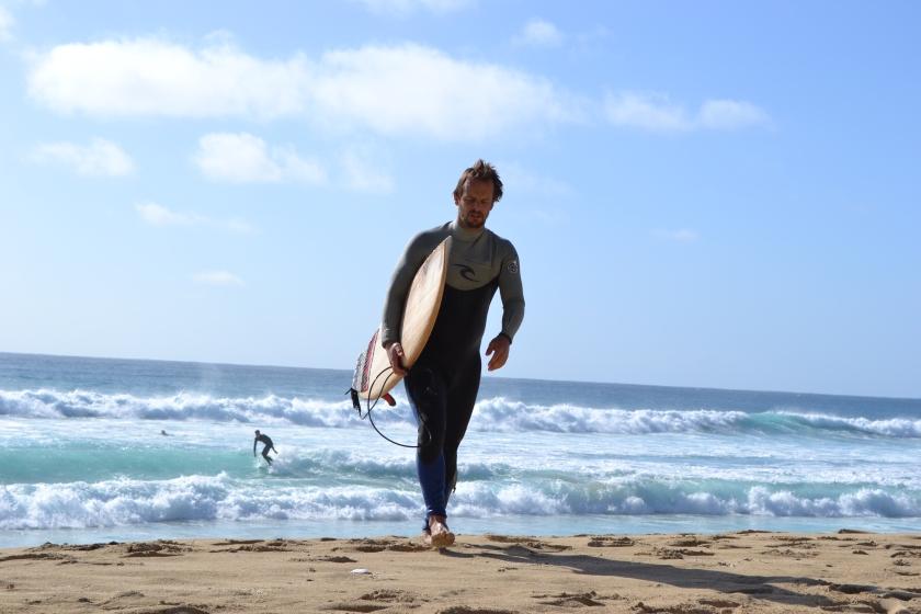 Min egen grønnøyd surfer