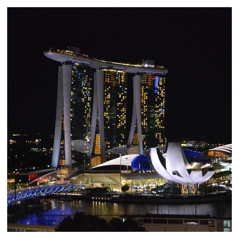 Utsikt til Marina Bay Sands