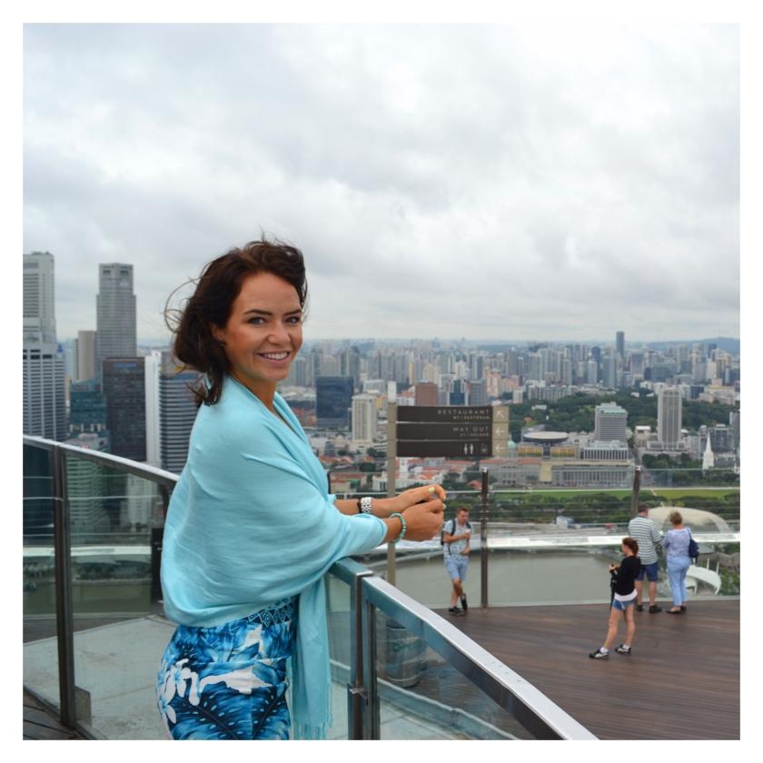 Utsikten fra Marina Bay Sands