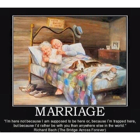 old couple marriage