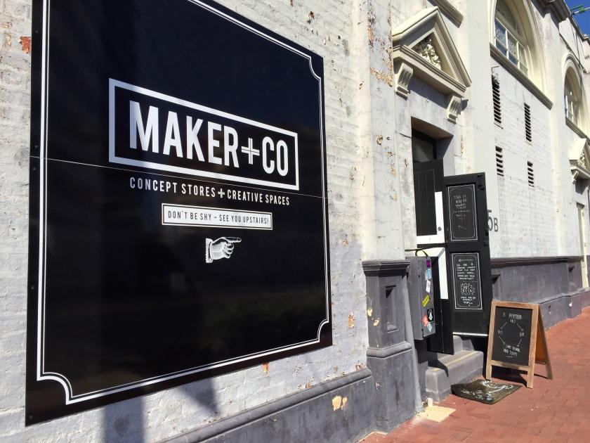Maker+co entry