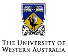 Perth UWA Seek wisdom logo