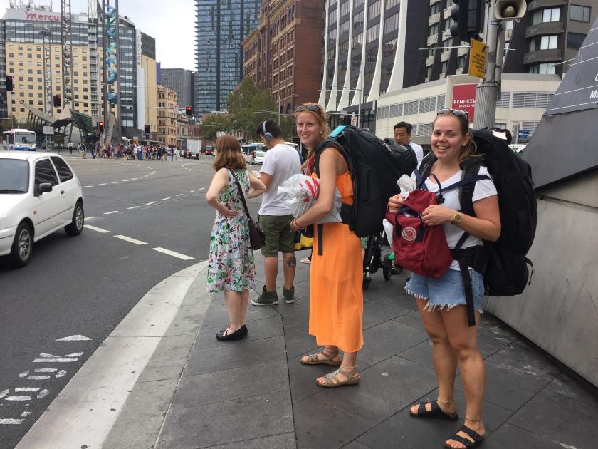 Norwegian Backpackers in Sydney
