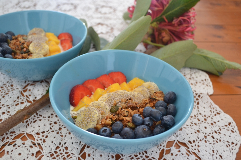 granola oppskrift sunn